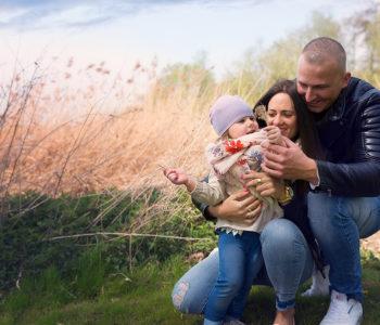 Police fotograf sesja rodzinna zdjecia dzieci asia dębek fotografie